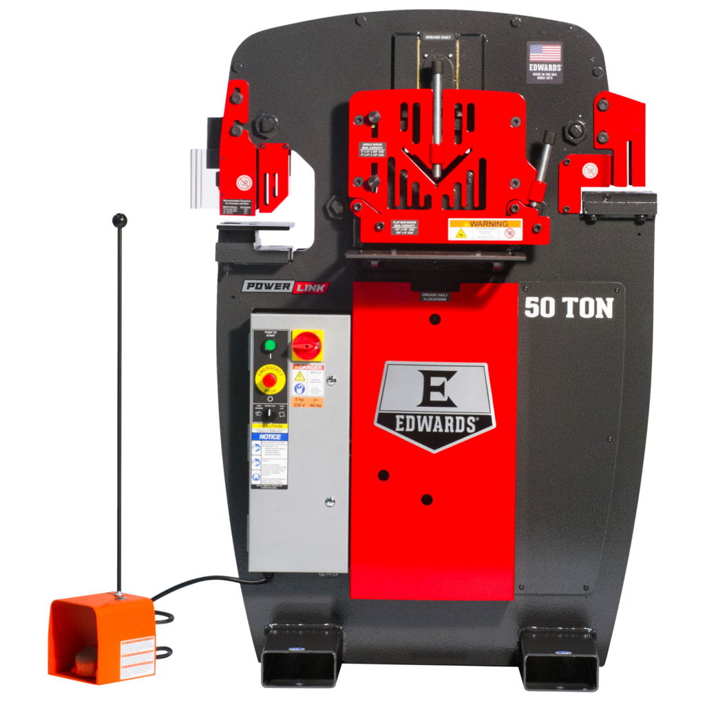 EDWARDS 50 Ton Ironworker