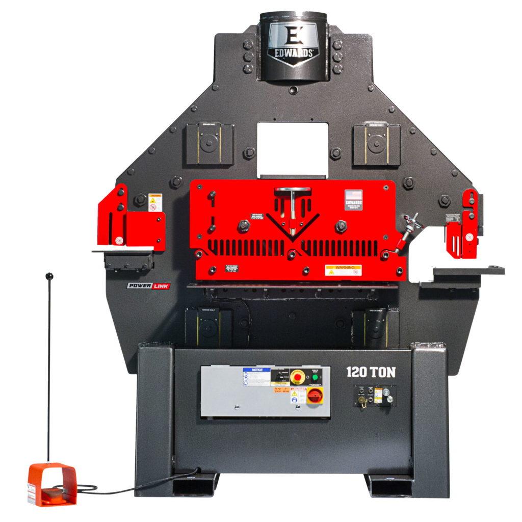 EDWARDS 120 Ton Ironworker