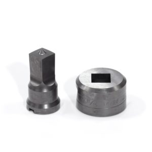 """21/32"""" Square Punch & Die Set with Key-Way"""