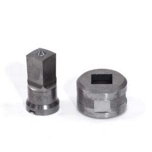 """3/4"""" Square Punch & Die Set with Key-Way"""