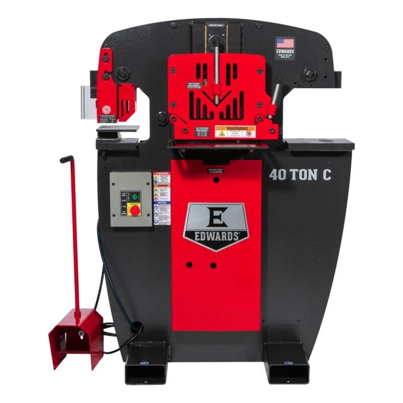 EDWARDS 40 Ton C Ironworker 3